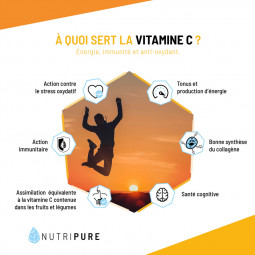 À quoi sert la vitamine C ?